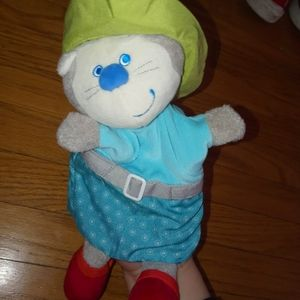 NWT Haba Puss In Boots hand puppet kids